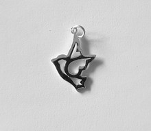 Bird Pendant -  925 Sterling Silver