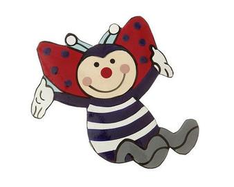 Mila Magnet - Ladybug