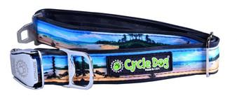Cycle Dog - Beach - Dog Collar - Medium - (30-53 cm) 13.5 - 34 kg