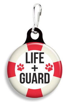 Collar Charm -Life + Guard - For Dogs or Cats -Franny B Good