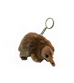 Echidna Key charm - stuffed animal - 12 cm