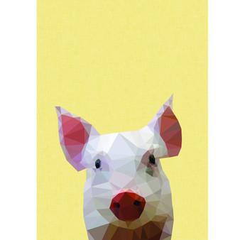 Piglet art print  - size A4 - made in Australia