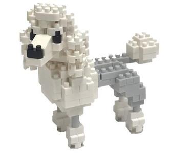 nanoblock Poodle figure assembled