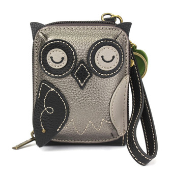 Owl - Cute-C - Credit Card Holder/ Wallet Wristlet
