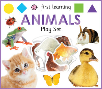 First Learning Play Set  Animals