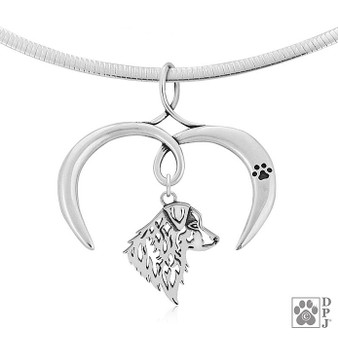 Capturing my Love Charm Holder - 925 recycled Sterling Silver