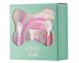 Princess - Melamine Tableware Set for Kids - BPA and Phthalates free