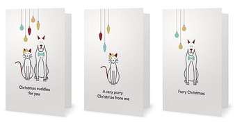 Animales Christmas Cards - Set of 3
