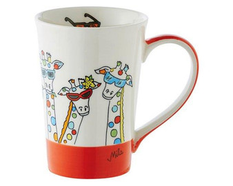 Mug - Giraffe - 350 ml - Ceramic