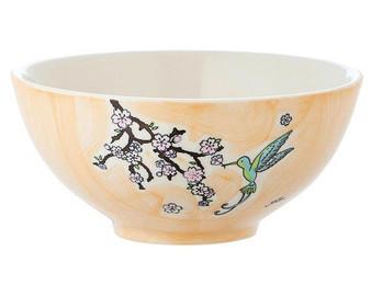 Bowl - Hummingbird - diameter 16 cm - 7 cm high - ceramic