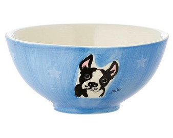 Bowl - Boston Terrier - diameter 16 cm - 7 cm high - ceramic