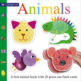 Animals - a first animals book with 20 press-out flash cards / Roger Priddy