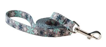 Cycle Dog - EcoWeave - Leash - Mint Retro Flower - 183 cm