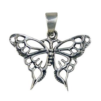 Butterfly Pendant - 3.5 cm - 925 Sterling silver