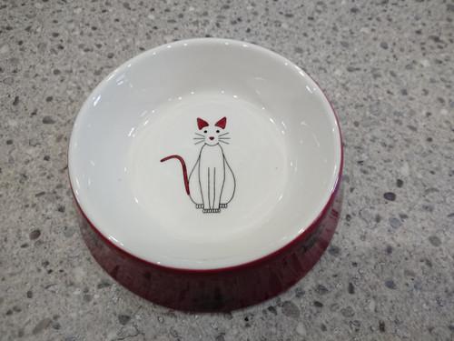 Pet Food Bowl Prettytatz - diameter 15 cm - hand painted