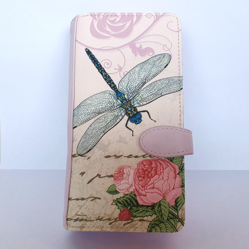 Vintage Dragonfly - Large wallet - Faux Leather
