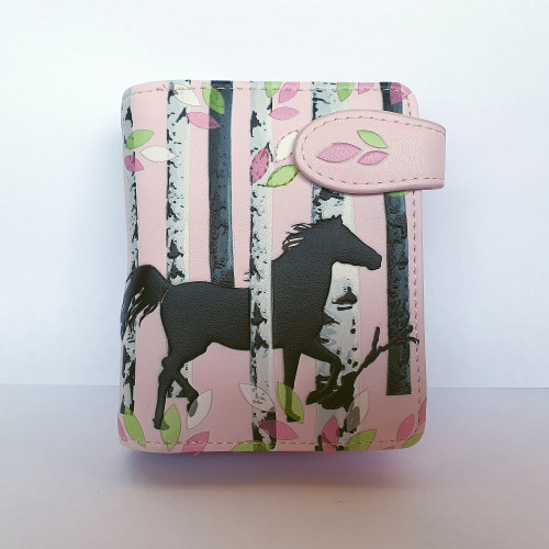 Forest Horse - Small Wallet - Faux Leather