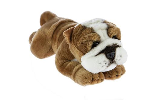Bulldog  Plush Toy - Brutus - 28 cm