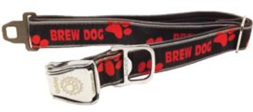 "Cycle Dog Collar ""Brew Dog"" Size Medium 12″-21″ (30cm-53cm).  Normally fits dogs 30lbs-75lbs (13.5kg-34kg)"