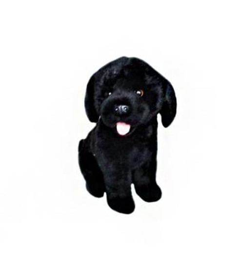 Black Labrador plush toy - Darth - 28 cm