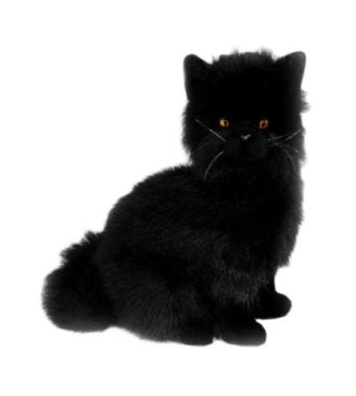 Crystal - Black Cat -  Plush toy - 34 cm