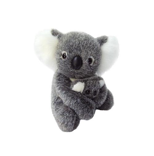 Koala with baby - Plush Toy - 19 cm  - Australian Made