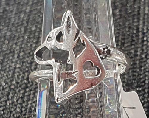 Ring - Pembroke Corgi - .925 Sterling Silver