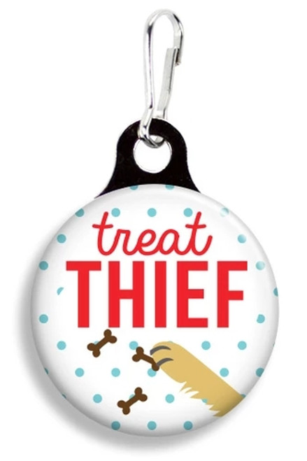 Collar Charm - Treat Thief - Franny B Good - for Dogs or Cats