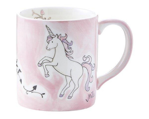 Unicorn Mug - Dream Horse - 280 ml - ceramic - hand painted - Mila