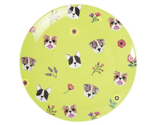 Ginger - Melamine Plate - Design Dogs - 12.7 cm diameter