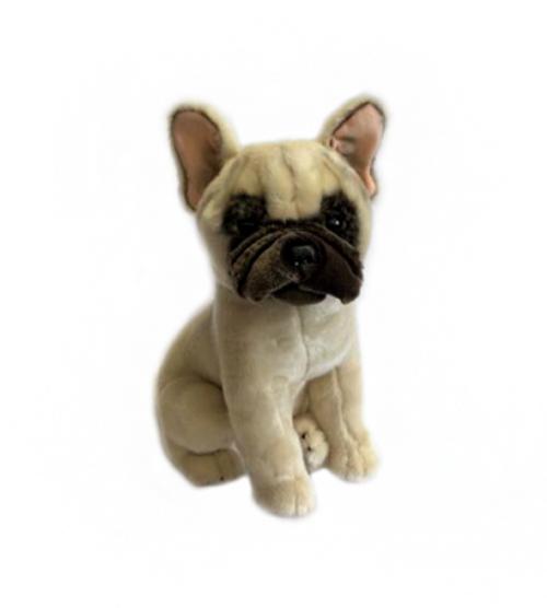 French Bulldog Plush Toy - Paris - beige-brown - 30cm