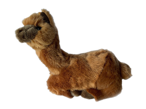 Alpaca plush toy - Alcapone - 25 cm - lying