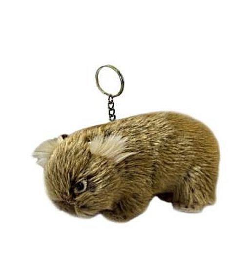 Wombat Plush Key Charm - 14 cm - hand made