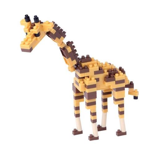 nanoblock Giraffe assembled