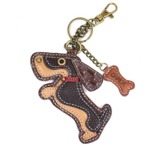Sausage Dog /Wiener Dog - Keyring/Bag Charm