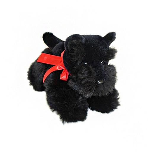 Scottish Terrier Puppy Plush Toy - Haggis - 28 cm