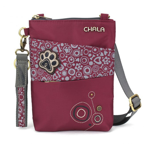 Pawprint - CV-Evolution mobile phone xBody - burgundy - Nylon
