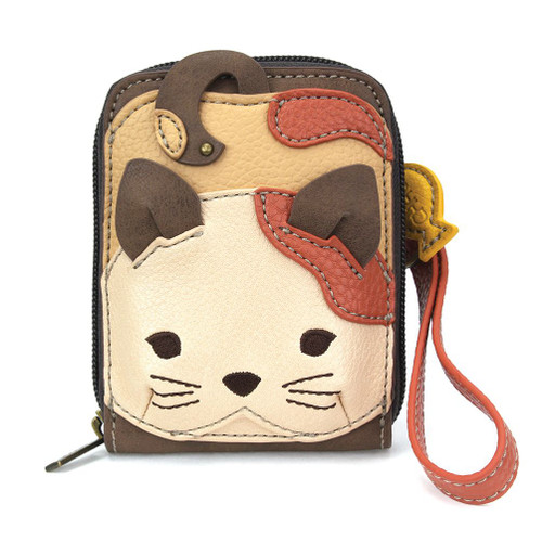 Cat - Cute-C - Credit Card Holder/ Wallet Wristlet