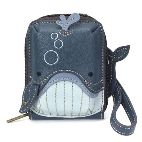 Whale - Cute-C - Credit Card Holder/ Wallet Wristlet