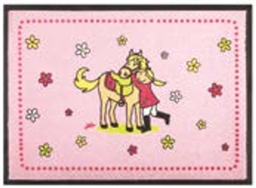 Mila Doormat - Little Pony - washable - 73 cm x 43 cm