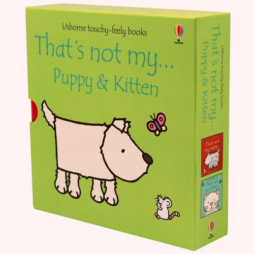 That's not my Kitten/That's not my Puppy Box Set - Touchy feely books