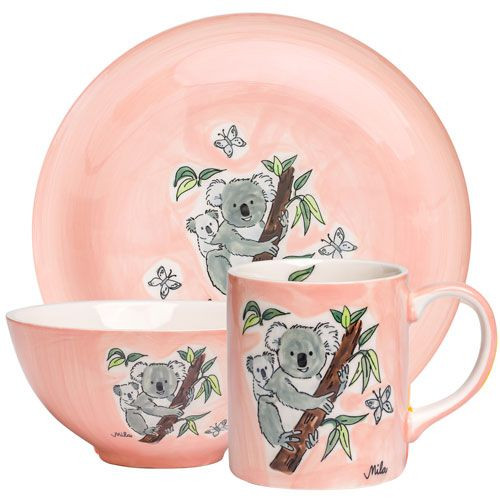 Koala - Tableware - hand-painted ceramics - ISO certified