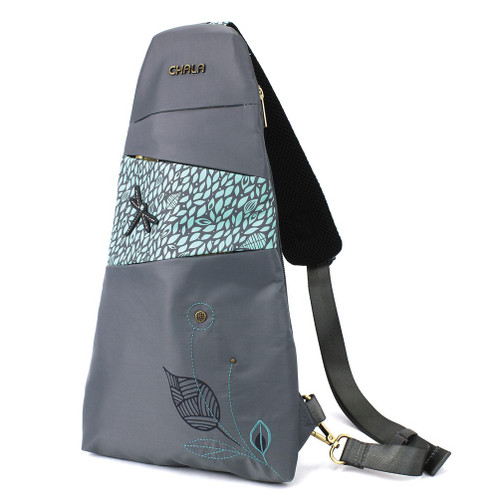 CV-Ecape Sling Backpack - Dragonfly - grey - Nylon