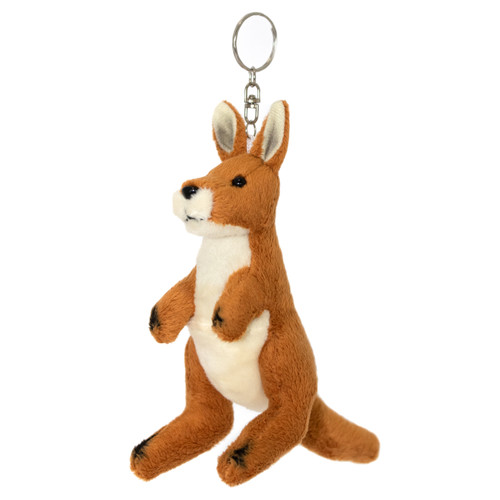 Red Kangaroo Keycharm - stuffed animal - 14 cm