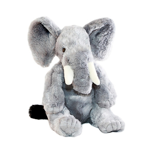 Elephant  soft plush toy - Jumbo - stuffed animal - 33 cm - Bocchetta Plush
