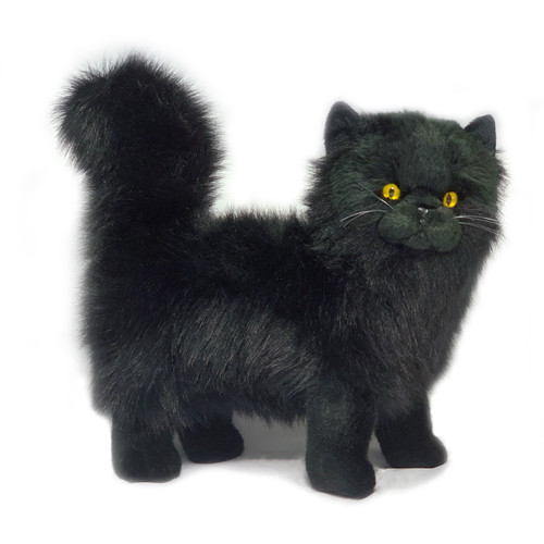 Black Chantilly Cat  - Sheffield - Plush toy - 34 cm - Bocchetta Plush