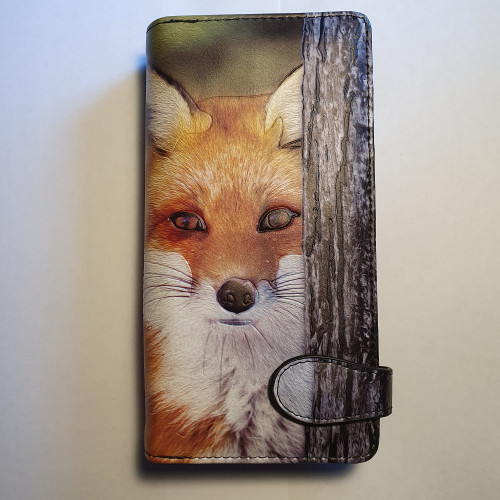 Red Fox - Large Wallet - Faux Leather