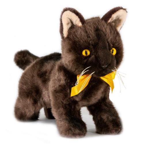 Burmese Kitten Plush Toy - Trixie - 22 cm - Hand made