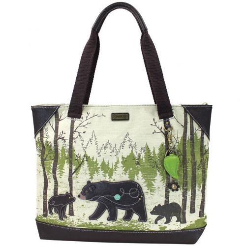 Safari Bear - Canvas Tote Bag