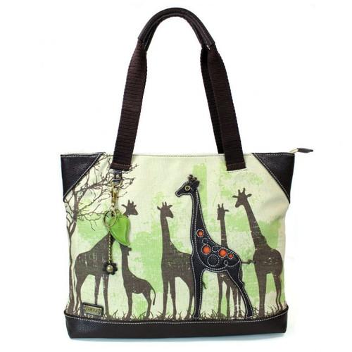 Safari Giraffe - Canvas Tote Bag